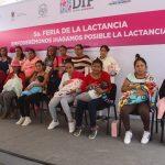 UAQ celebra la Semana Mundial de la Lactancia Materna, en Pedro Escobedo