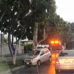 Chocan en Avenida Cimatario