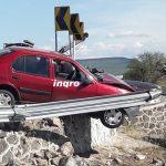 Accidente en retorno del Fray Junípero