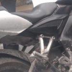 En La Gotera se detiene a sujeto que manipulaba moto robada