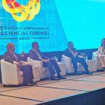 Fiscal General expone en Simposio Internacional de Ciencias Forenses