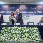 Entregó Enrique Vega Primer Informe de Gobierno