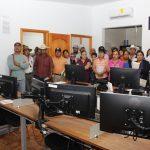 Autoridades auxiliares conocen las nuevas instalaciones del C4 Huimilpan
