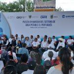 Gobernador entrega sistema de agua potable en Peñamiller
