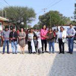 Entrega Elvia Montes obra en la comunidad de La Purísima