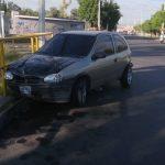 Se registra choque en el parque industrial Benito Juárez