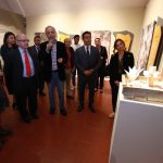 """Luis Nava asiste a la inauguración de la exposición """"Tierra Habitada"""""""