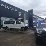 Robo en agencia Peugeot