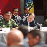 Participa Luis Nava en reunión nacional de seguridad