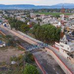 Entrega Enrique Vega urbanización y alumbrado en Amazcala
