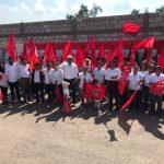 Mil 200 queretanos al festejo del 45 aniversario de Antorcha
