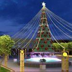 Anuncian luminosa Navidad