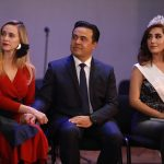 Acude Luis Nava a la presentación del Heraldo de Navidad 2019