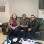 Se reúne la Presidenta Municipal de Ezequiel Montes con el titular de la CEA