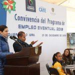 Celebra Municipio a trabajadores eventuales
