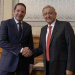 Reunión AMLO-Gobernador. Temas Seguridad y Economía