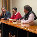 Campesinos antorchistas solicitan a SEDEA agilidad en los pozos