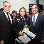 Acudió Luis Nava a la Premiación al Policía del Año
