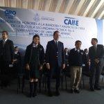Gobernador anuncia construcción de auditorio en Secundaria Técnica 6 de Carrillo