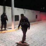 Sujeto armado con machete y granada intentó agredir a policías. Fue abatido