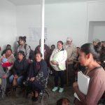 Antorcha en Amealcobusca progreso: Dafne Solorio