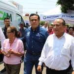 Alcalde en tu Calle atiende a comerciantes de Lomas de Casa Blanca