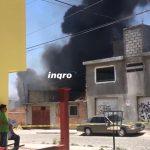 #Video: Se incendia inmueble en Bellavista