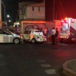 Chocan vehículos por semaforazo en Blvd.Rogelio Garfias y Av. Carrillo Puerto