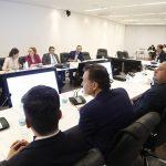 Senadores del PAN reciben a diputados de Costa Rica
