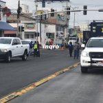 Movilización y evacuación de negocios por fuga de gas en Satélite
