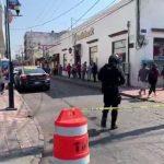 Violento robo a cuenta habiente en el centro de San Juan del Río