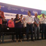 Anuncia FDS 850 millones para obras en la capital