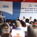 Inauguran nueva base de la Cruz Roja Mexicana en Santa Rosa Jáuregui