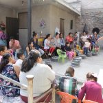 Elsa Méndez lleva encuentro de bienestar a familias queretanas