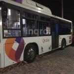 Asaltan transporte público