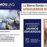UAQ pide colaboración para rentar helicóptero cisterna para incendios