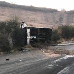 Muere prensado al quedarse sin frenos en Boulevard de la Nación