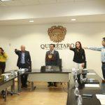 Rinden protestan integrantes del Comité Técnico del Fideicomiso Queretano para la Conservación del Medio Ambiente (FIQMA)
