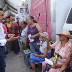 Luís Nava encabeza jornada de Alcalde en tu Calle en colonia Rubén Jaramillo