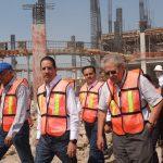 Autoridades Federales, Estatales y Municipales recorrieron las obras del nuevo Hospital General