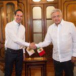 El Gobernador Domínguez está haciendo muy bien las cosas: AMLO