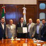 Gobernador consolida acuerdos con CONALEP e INIFED en beneficio de la educación