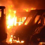 Incendio quedó controlado a las 2:18 de hoy. Se perdieron 30 unidades: PC