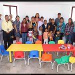 Entrega Elvia Montes 372 becas escolares de nivel básico