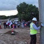 Amplían red de electrificación en Ezequiel Montes