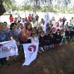 Encabeza Elvia Montes arranque de obra de bardas perimetrales en escuelas