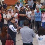 Atiende Luis Nava peticiones de habitantes de Paseos del Pedregal