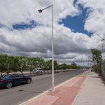 Concluye el cambio de luminarias en Paseo Centenario del Ejército Mexicano