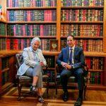 El Gobernador se reúne con la titular de la Segob