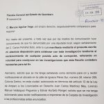 Se presentó MAV ante Fiscalía por voluntad propia, por dichos de Carlos Peñafiel
